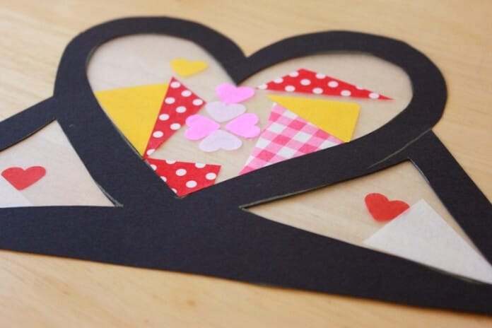 Stained Glass Heart Crowns for Valentine's Day 14