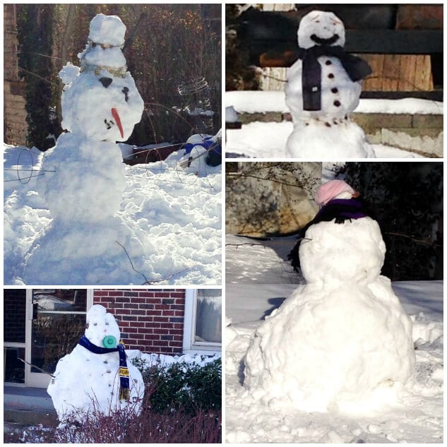 Pictures of Snowmen