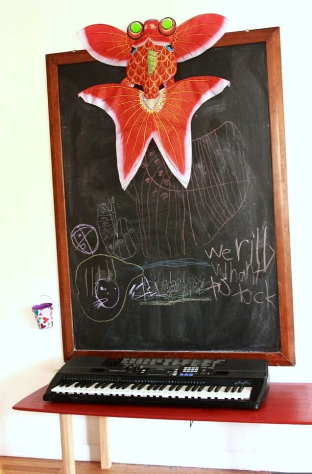 art on the chalkboard