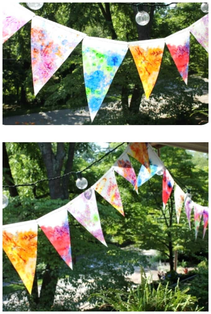 How to Make a Bunting Stained Glass - Beautiful!