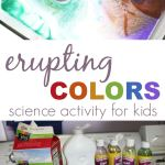 Erupting Colors :: A Fireworks Art & Science Activity