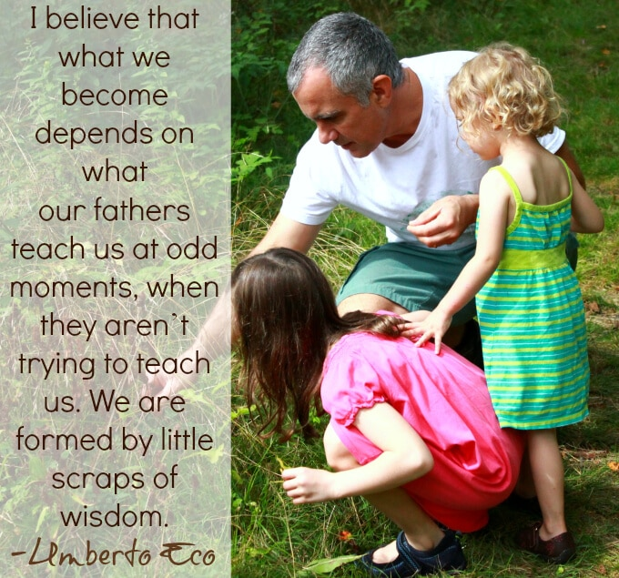 9 of the Best Fathers Day Quotes - Umberto Eco