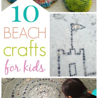 10 Ways to Have a More Creative Beach Trip :: Ocean Crafts for Kids