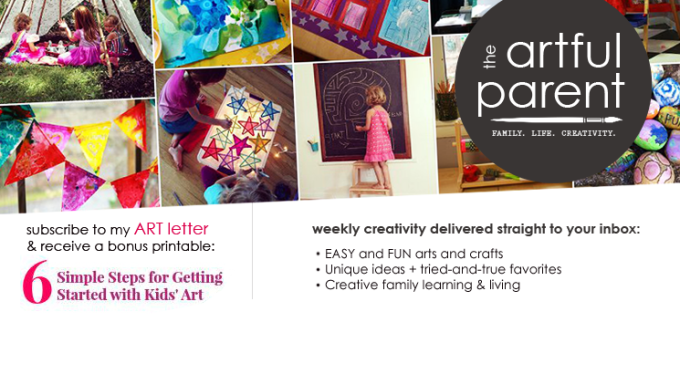 Subscribe to The Artful Parent Newsletter