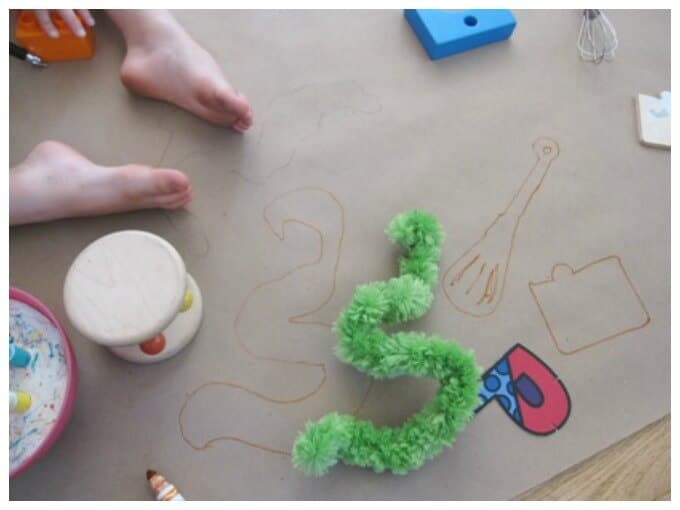 A Shape Tracing Activity for Kids