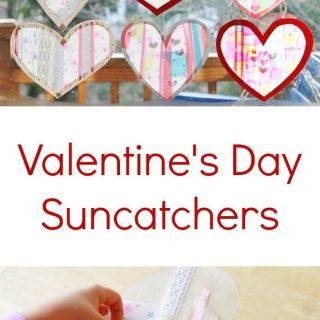 Heart Suncatchers with Lace and Ribbons