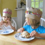 Blueberry Hand Pies and Flower Crowns