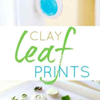 Clay Leaf Prints and Pendants