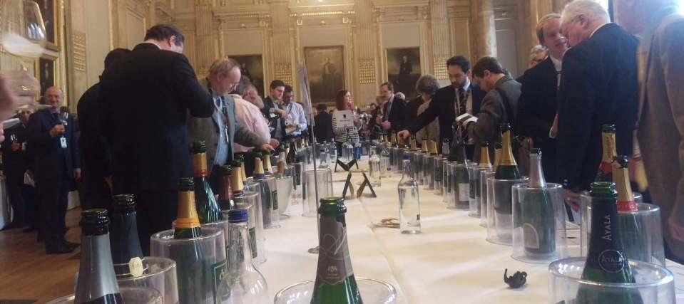 Champagne tasting London