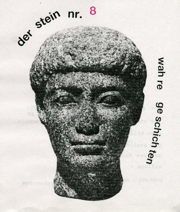 Der Stein, par Julie Doucet