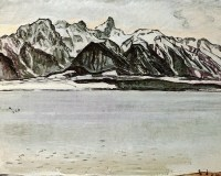 Ferdinand Hodler - Stockhornkette (1913)