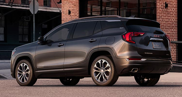 2018 GMC Terrain Gains Refinement   Consumer Reports 2018 GMC Terrain rear