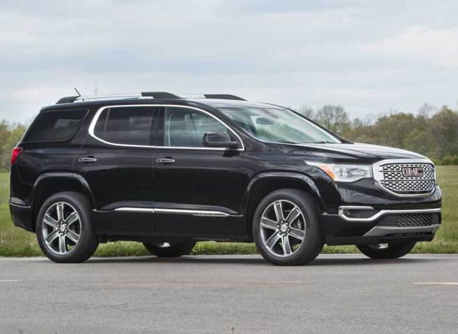 Redesigned 2017 GMC Acadia Goes on a Diet   Consumer Reports 2017 GMC Acadia