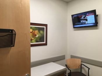 Medical Office Custom TV Solution