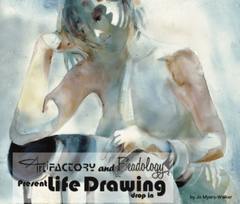Life Drawing by Jo Meyer-Walker