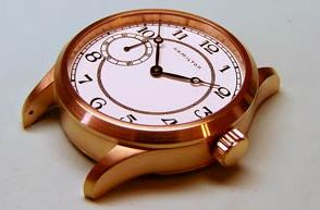 Electroplating watches