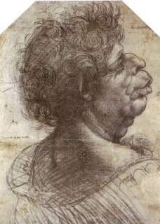 A Grotesque Head, Leonardo Da Vinci