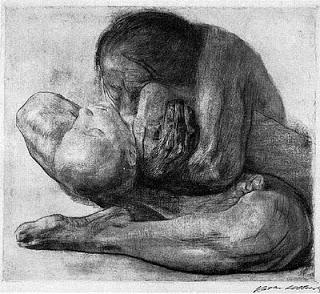 kathe-kollwitz Woman with a Dead Child