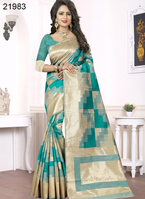 Banarasi Silk Narissa 21983 | Occassional Wear for Ladies
