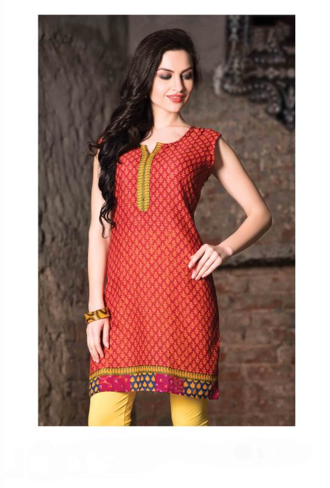 Cotton Readymade Kurti Femin CB059 | Daily Wear for Ladies