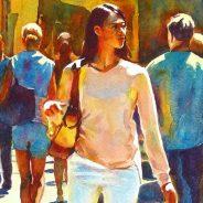 UK Watercolorist Graham Berry is coming to Artists & Makers Studios