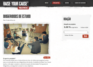 Artiva-te na Raise Your Cause 2