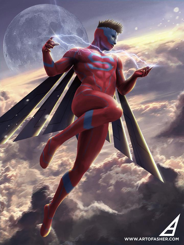 Superman Asher Ben Alpay
