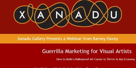 Xanadu Gallery Presents an Art Marketing Workshop