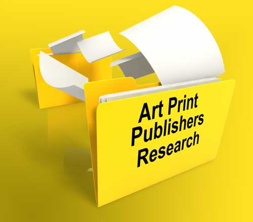 how to find art print publishers