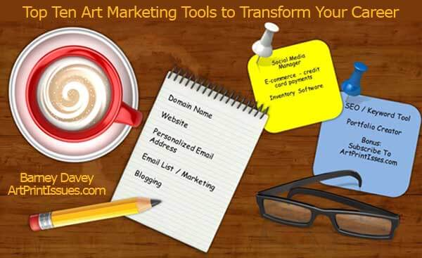 Top Ten Art Marketing Tools