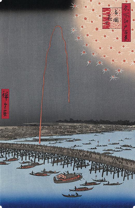 隅田川花火大会を描いた浮世絵 10作品