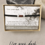 Inspirational Jewelry | Live Your Dash Bracelet | Sterling Silver