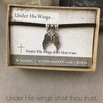 christian jewelry christian bracelet psalm 91 wing bracelet gift