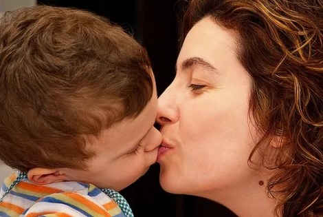 mother-kiss-child