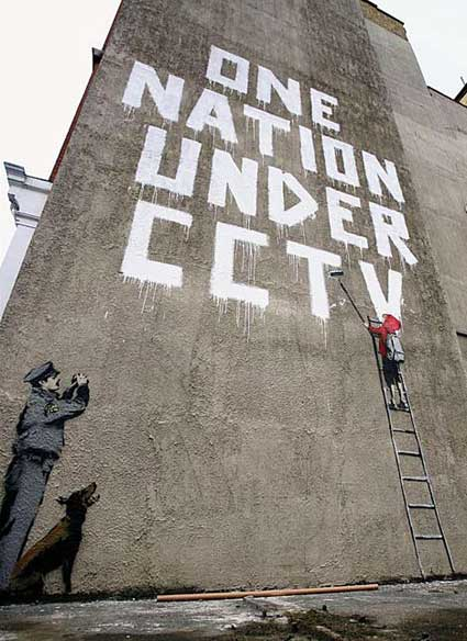 Banksy, One Nation Under CCTV