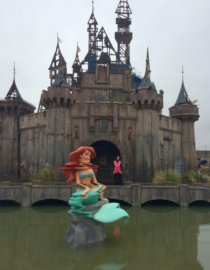Banksy's Dismaland: Little Mermaid