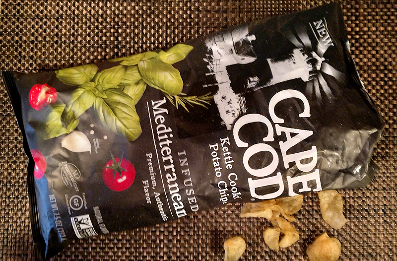 Cape Cod Infused Mediterranean Kettle Cooked Potato Chips