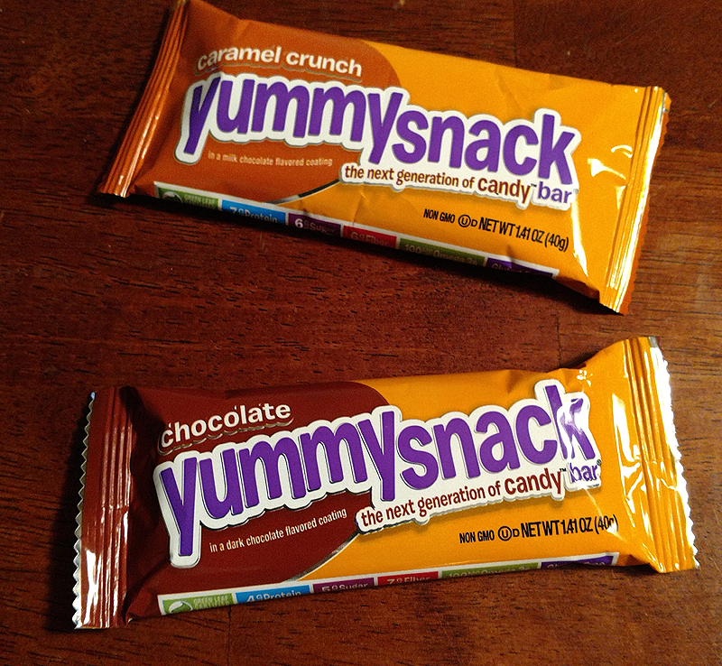 YummySnack Candy Bars from Great Kids Healthy Snacks Box