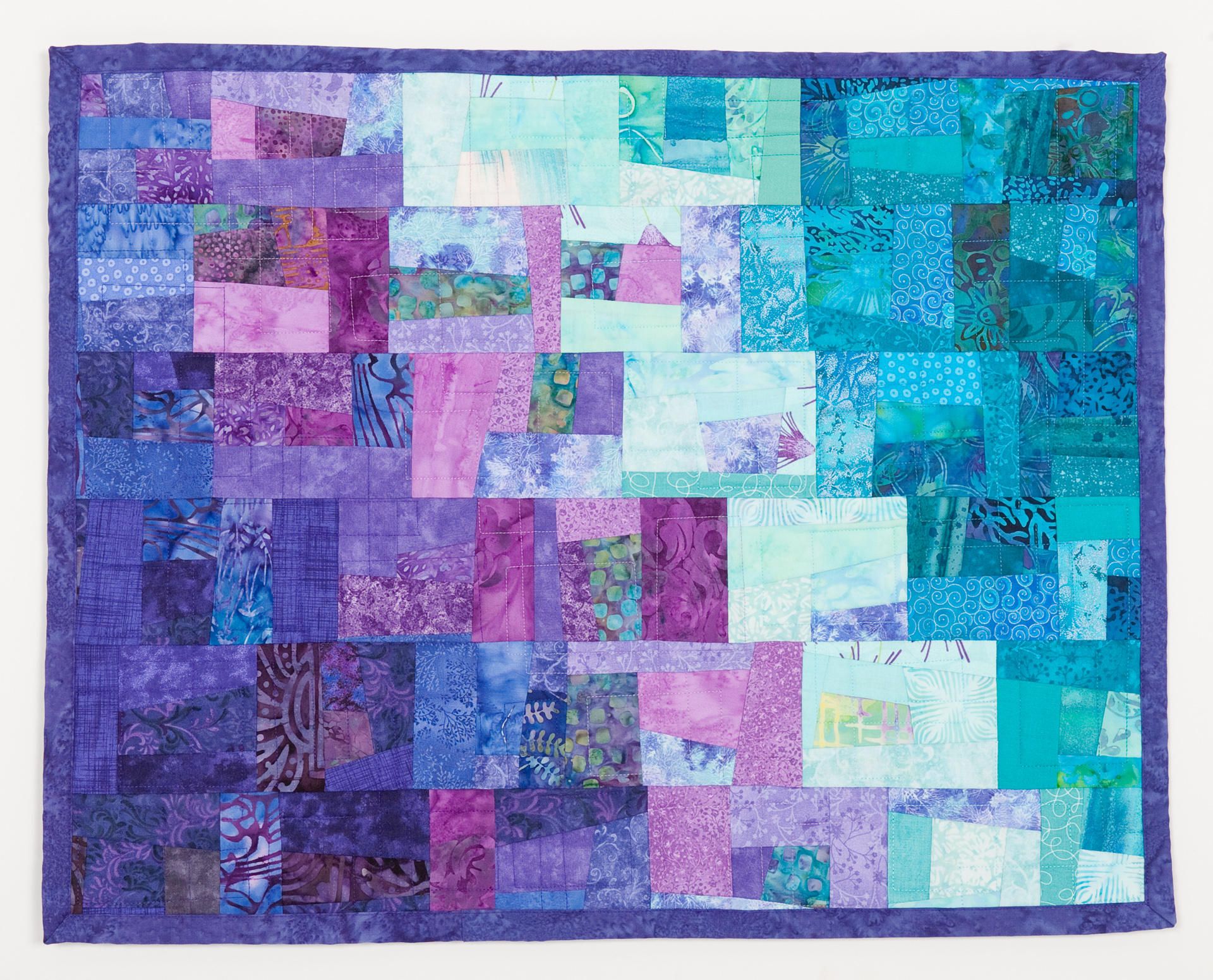 Fullsize Of Teal And Purple