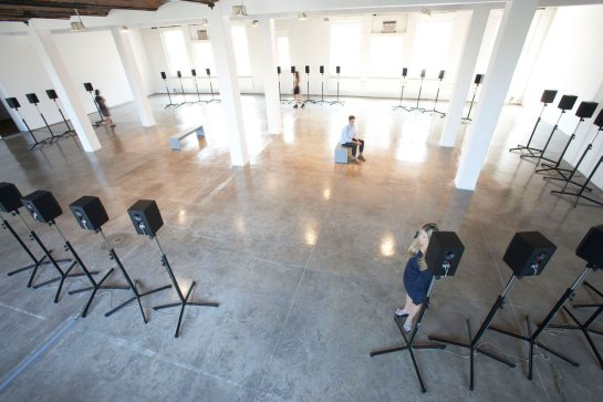 Forty Part Motet by Janet Cardiff, Installation at MoMA PS1