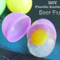 DIY Plastic Easter Egg Goop Filler