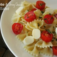 Tomato & String Cheese Pasta Salad | Recipe