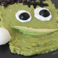 Frankenstein Guacamole Dip | National Guacamole Day!