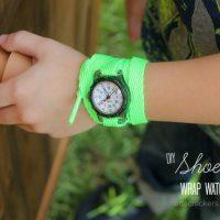 DIY Shoelace Wrap Watch