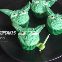 DIY Yoda Cupcakes