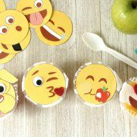Emoji Fruit Cup Craft (Plus a FREE Printable)