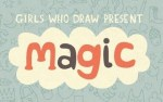 Just like that! Magic Show exhibition by Girls Who Draw at Solihull Gallery