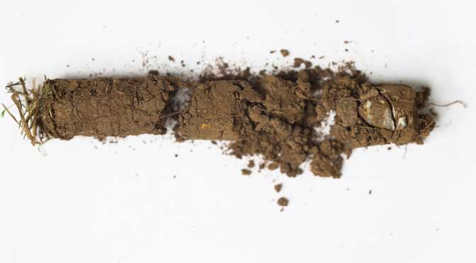 Digging soil culture at Plymouth University's Peninsula Arts Gallery