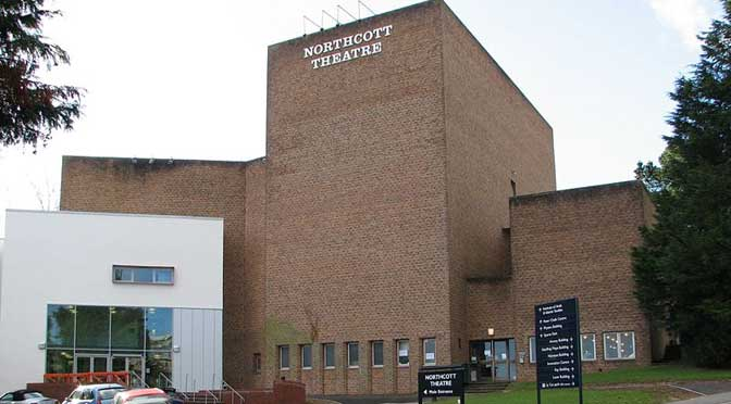 Exeter Northcott Theatre: licensed under the Creative Commons Attribution-Share Alike 3.0 Unported licence