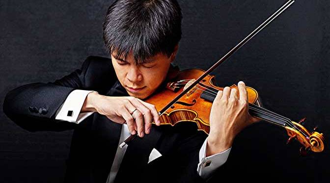 'Great command and assurance': Leland Chen with the Ten Tors Orchestra